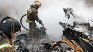 عکس/ ۶کشته براثر سقوط بالگرد در روسیه