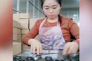 فیلم/ مهارت حیرتانگیز دختر چینی در بستهبندی!