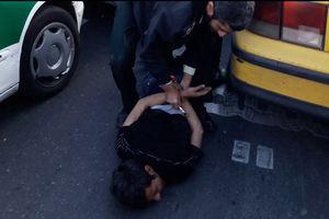 فیلم/ تعقیب و گریز هالیوودی در خیابانهای تهران!