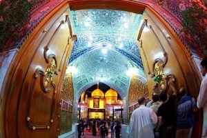 تصویر زیبا از حرم امام موسی کاظم (ع)