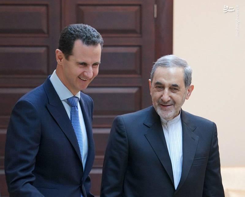 ولایتی در دیدار با بشار اسد در دمشق:  ۷ سال است که جنگ تمام عیاری با مشارکت دهها کشور علیه ملت و دولت سوریه به هدایت مستقیم آمریکایی شروع شده است