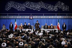 عکس/ دیدار مسئولان نظام با رهبر انقلاب