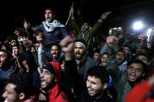 تظاهرات فلسطین به حمله سوریه