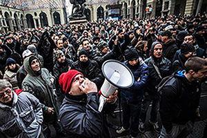 فیلم/ واکنش مردم ایتالیا به حملات سوریه