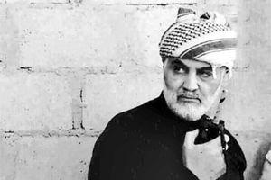 گریه حاج قاسم در غمِ فراق دوست شهیدش +فیلم