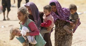 دختران و زنان ایزدی