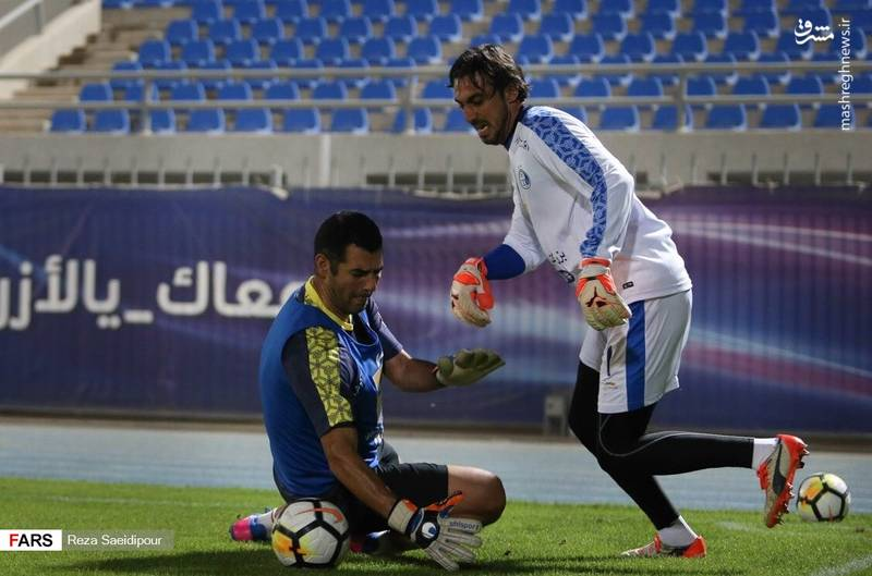 تمرین استقلال در کویت