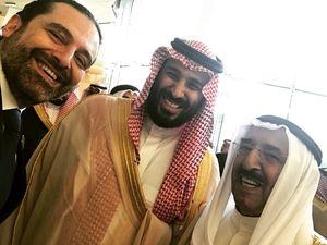 عکس/ سلفی حریری با ولیعهد سعودی