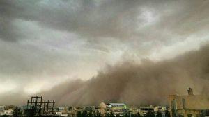 سرعت طوفان در زابل به ۹۴ کیلومتر رسید