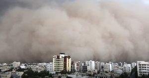 فیلم/طوفان امروز یزد از نمایی دیگر