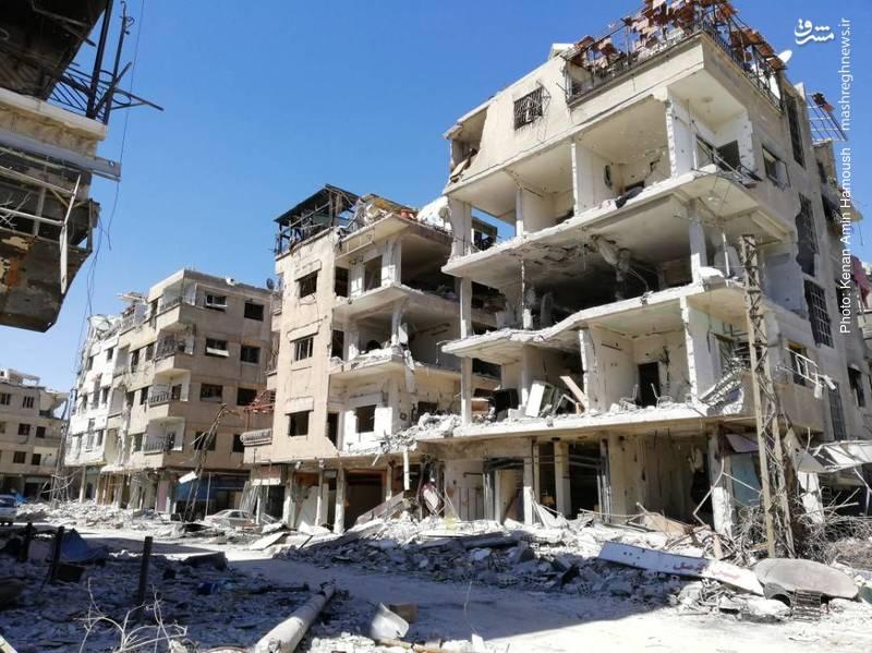 غوطه شرقی دمشق  ۷ سال پس از جنگ