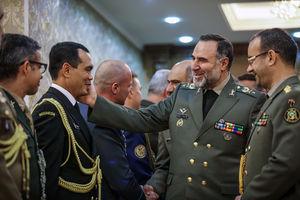 دیدار وابستگان نظامی با فرمانده نزاجا