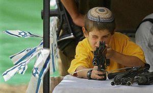عکس/ نهادینهکردن فرهنگ ترور در کودکان اسرائیلی
