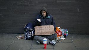 عکس/ لندن؛ سرزمین کارتنخوابها