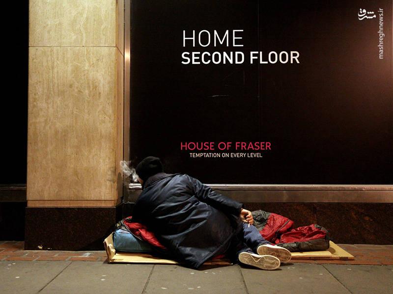 آمار منتشر شده در ماه دسامبر سال گذشته تعداد افراد بیخانمان در انگلیس طی 6 سال اخیر افزایشی 134 درصدی داشته است.