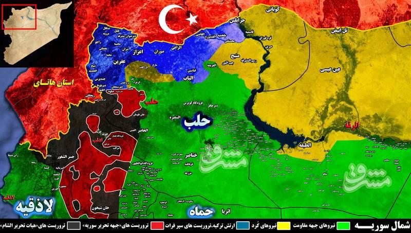 اختصاصی مشرق / جنگ کفتارها در جنوب استان ادلب؛ لشکرکشی ترکیه به شمال استان حماه به بهانه اجرای توافق کاهش مناطق تنش + نقشه میدانی