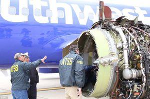 عکس/ یک کشته بر اثر انفجار موتور هواپیما