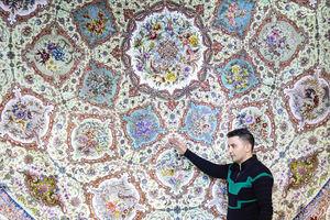 عکس/ هنر ایرانی در نمایشگاه خانه ایرانی