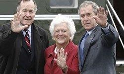 مادر جورج بوش درگذشت +عکس