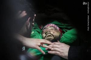 عکس/ وداع با پیکر شهید خیابان پاسداران؛ «محمدحسین حدادیان»