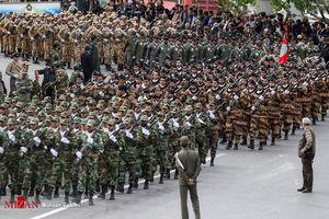 مراسم رژه روز ارتش - مشهد