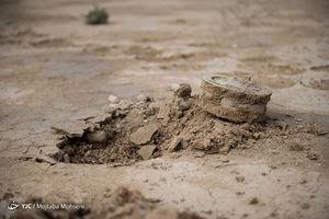 عکس/ قاتل خاموش مناطق جنگزده