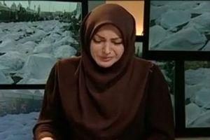 گوینده خبر تلویزیون عزادار شد +عکس