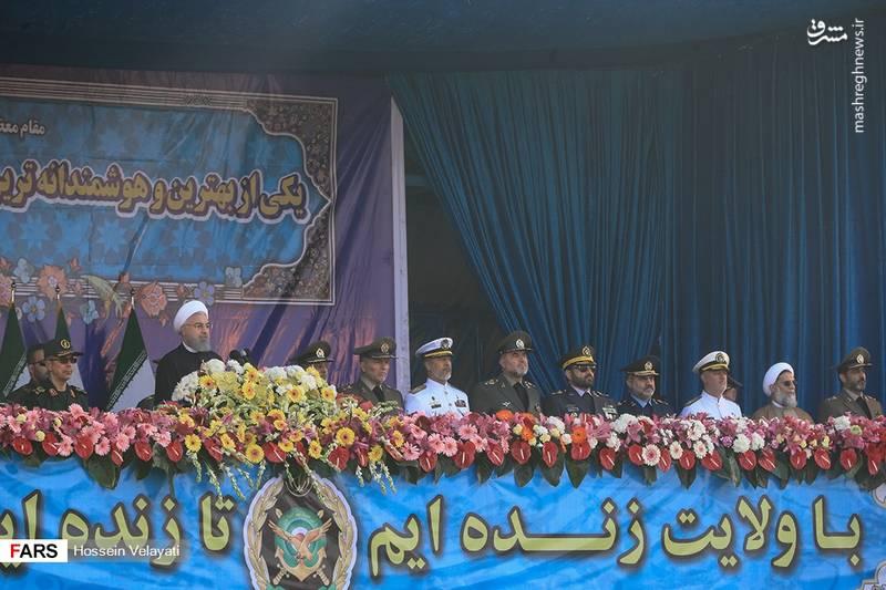 عکس/ مراسم رژه روز ارتش