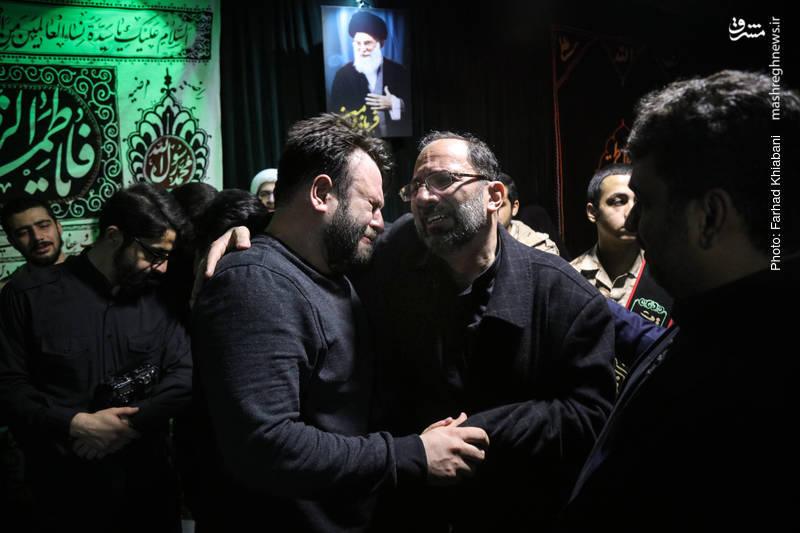 وداع با پیکر شهید خیابان پاسداران؛ «محمدحسین حدادیان»
