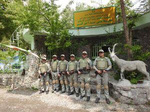جلیقه های ضد گلوله بر تن محیط بانان منطقه حفاظت شده البرز مرکزی