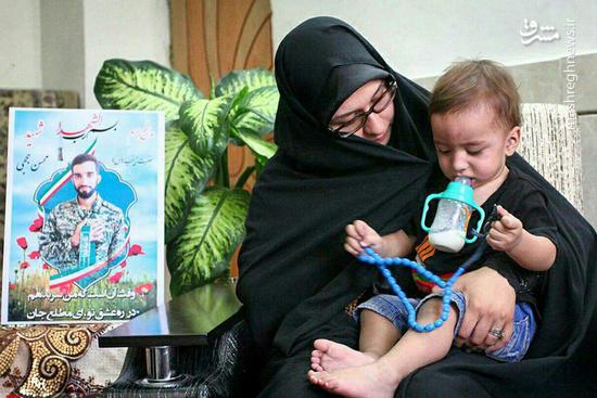 مهریه همسر شهید حججی چه بود؟ +فیلم