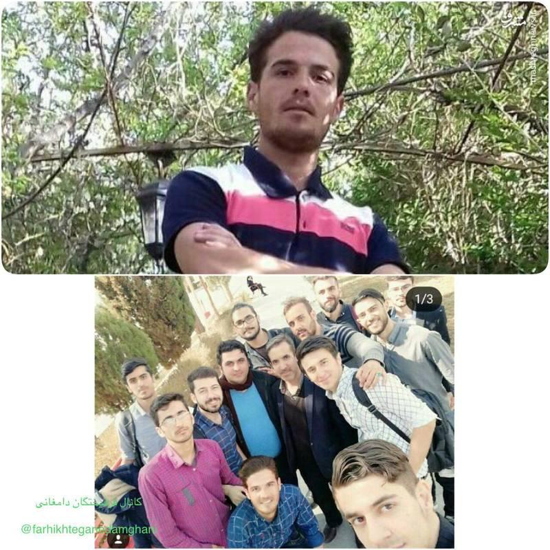 مرحوم علی خاکباز قربانی حادثه امروز