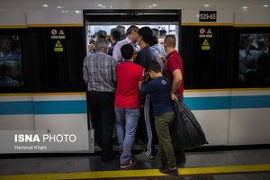 تاخیر 45 دقیقهای در خط 3 مترو و سرگردانی مسافران