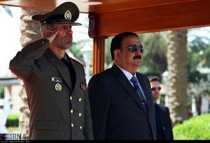 سفر وزیر دفاع نیروهای مسلح جمهوری اسلامی ایران به عراق