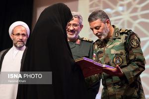 عکس/ مراسم روز پاسدار با حضور فرمانده ارتش