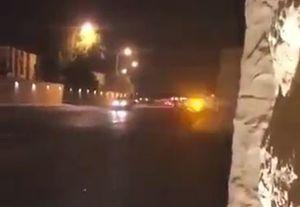 فیلم جدید از تیراندازی در اطراف کاخ بن سلمان