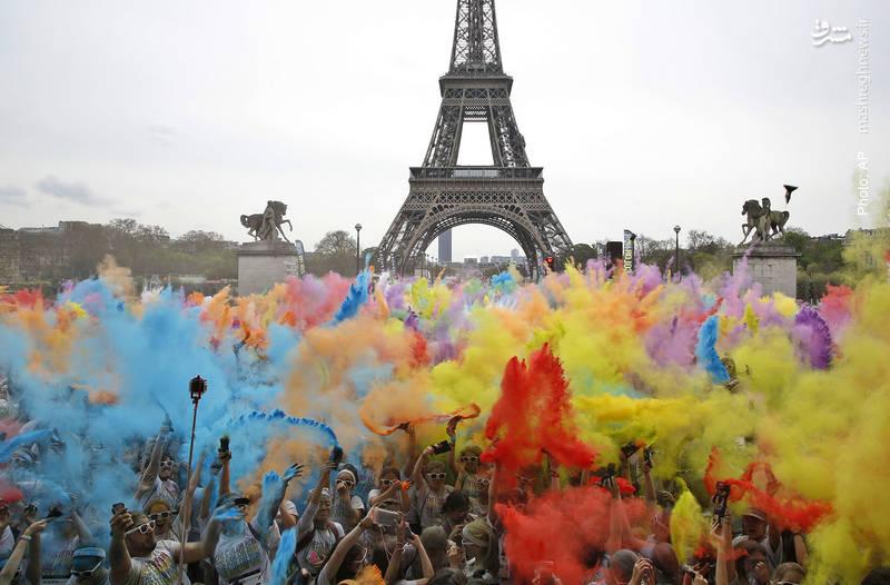 اختتامیه بازی رنگ در پاریس