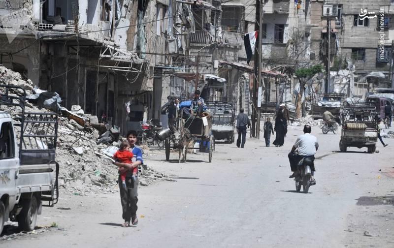آزادی دوما در شرق دمشق از تسلط شورشیان