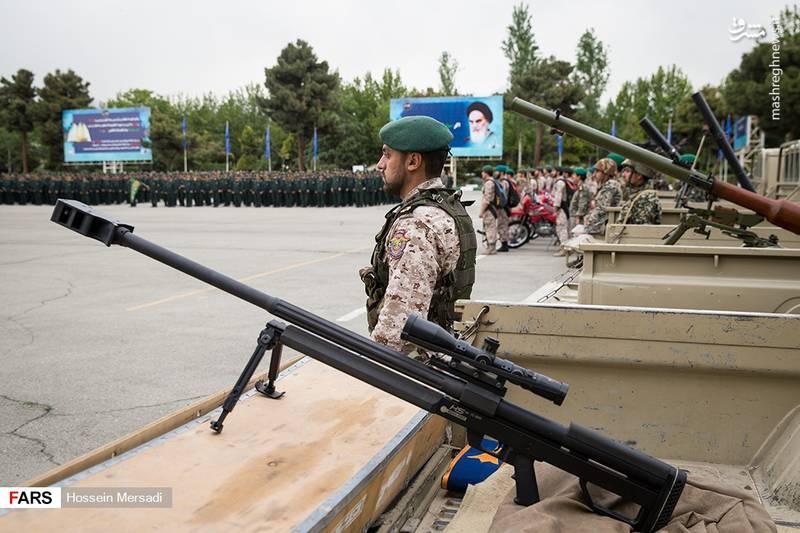عکس/ مراسم صبحگاه مشترک سپاه تهران بزرگ