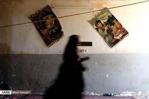 عکس/ پلمب خانه موادفروشان در مشهد
