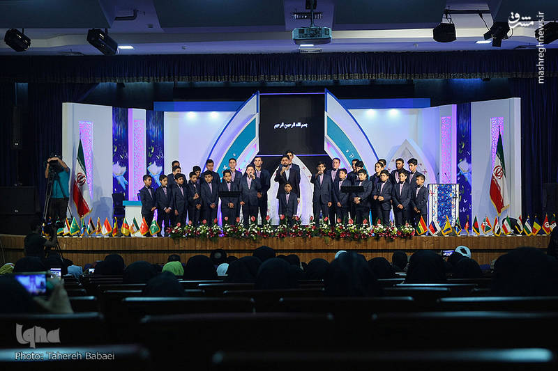 عکس/ افتتاحیه مسابقات بینالمللی قرآن کریم بانوان|2803324