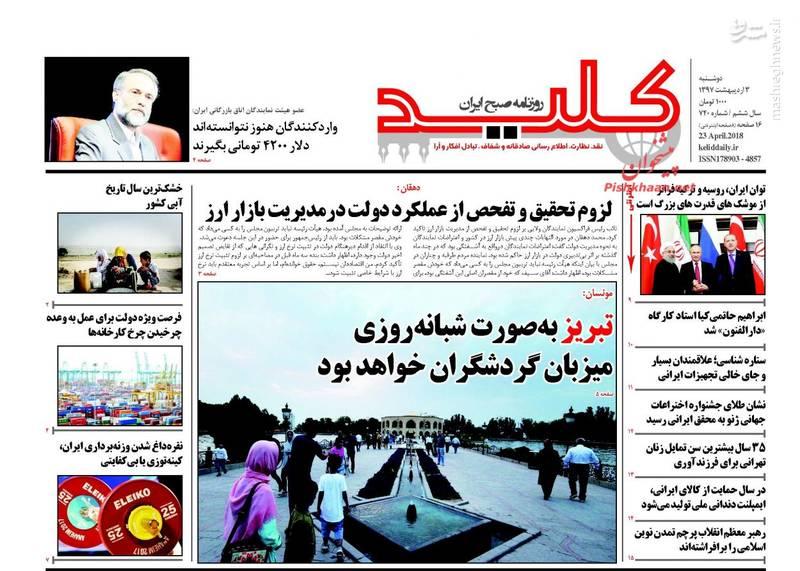 کلید: تبریز به صورت شبانه روزی میزبان گردشگران خواهد بود