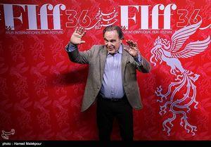 عکس/ حضور هنرمند آمریکایی در جشنواره جهانی فیلم فجر