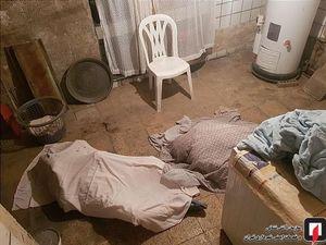 عکس/ مرگ تلخ پدر و پسر در زیرزمین خانه قدیمی