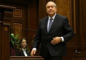 توضیح رئیسجمهوری ارمنستان درباره اعتراضات مردمی ,