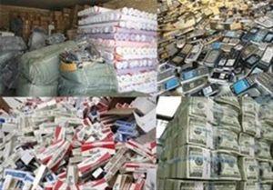 در سال گذشته چه تعداد کالای قاچاق کشف شده است؟