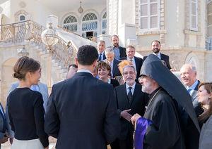دیدار بشار اسد با نمایندگان ارامنه