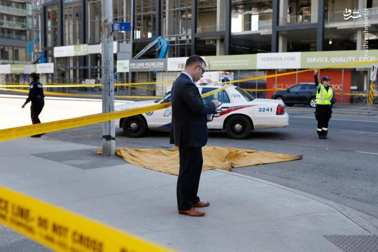 """حمله مرگبار""""ون"""" به مردم در کانادا"""