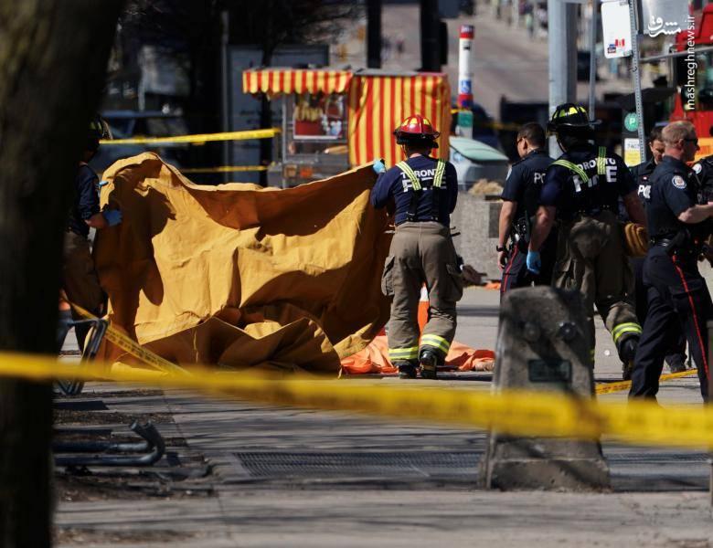 پس از حادثه مقامات از مردم خواستند به محل حادثه نزدیک نشوند.