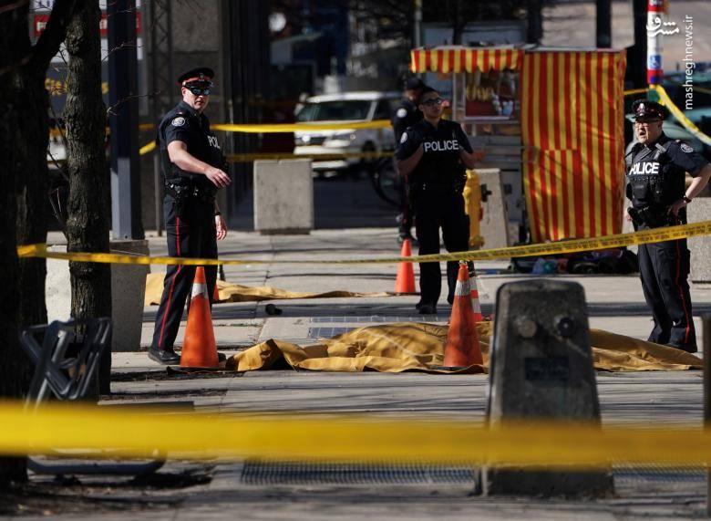 """مقامات کانادا این حادثه را """"عمدی"""" اما غیرتروریستی اعلام کردهاند."""